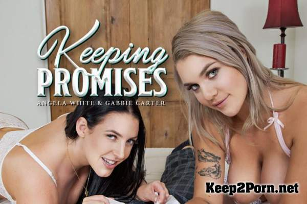 Angela White, Gabbie Carter (Keeping Promises / 14.11.2019) [Samsung Gear VR] (MP4 / UltraHD 2K) BaDoinkVR