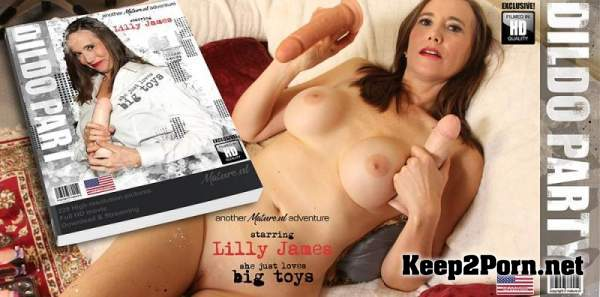 Lilly James (47) - Naughty mature Lilly James has a dildo party on her own / 13596 (Mature, SD 540p) Mature.nl