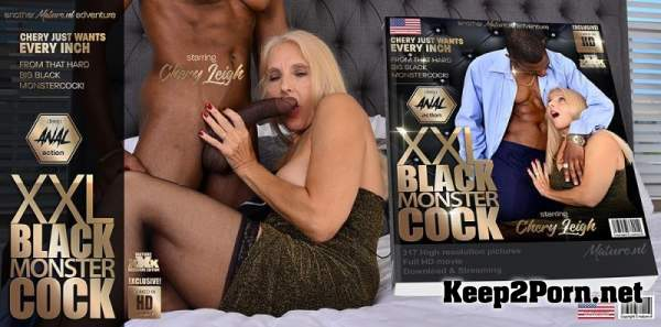 Chery Leigh (60) - Mature Chery Leigh wants an anal fuck from a big hard black monstercock / 13433 (Anal, SD 540p) Mature.nl