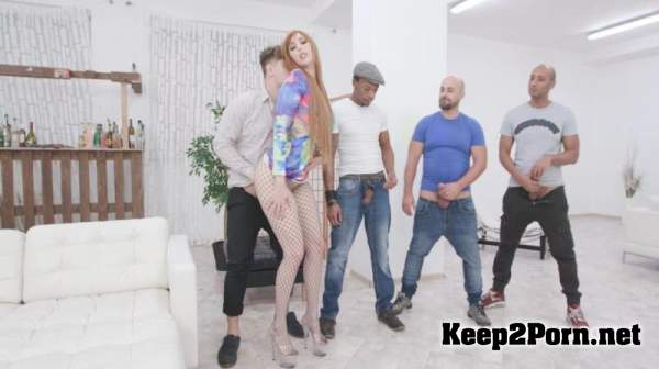 Dirty Talking, Lauren Phillips 4on1 with Big Dicks, Balls Deep Anal, Gapes, DAP, Creampie and Swallow GIO1271 / 11.12.2019 (FullHD / Anal) LegalPorno