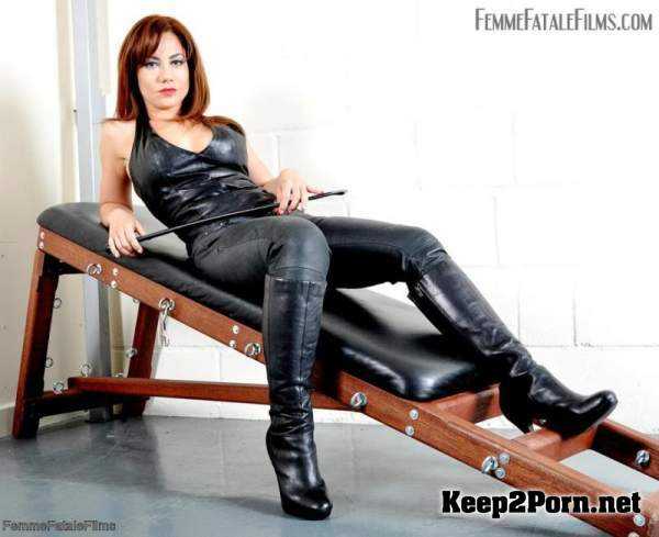 Ella Kross  - Be My Boot Slave (December 11, 2019) (HD / Femdom) FemmeFataleFilms