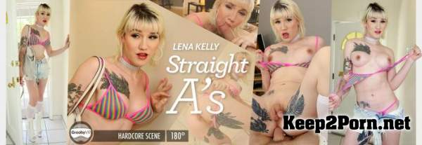 Lena Kelly - Straight A's [Oculus Rift, Vive] (MP4 / UltraHD 2K) GroobyVR