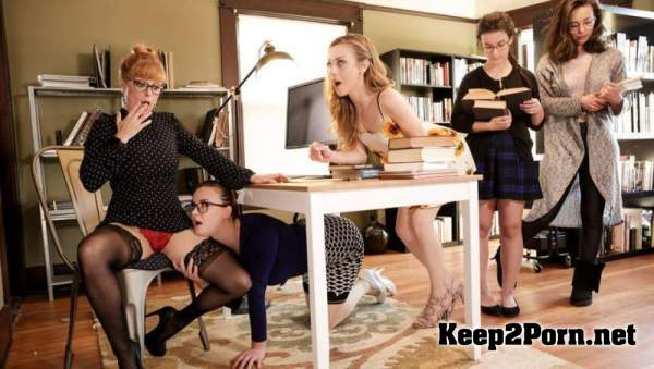 Penny Pax, Karla Kush, Jay Taylor (The Library Is Now Closed) (UltraHD 4K / Lesbians) GirlsWay