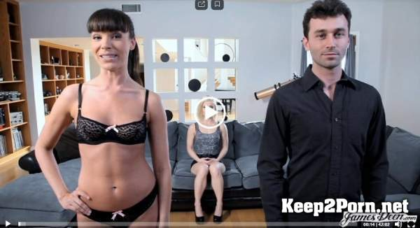 Ash Hollywood tag teamed by James Deen and Dana Dearmond (21.01.2020) (FullHD / Femdom) JamesDeen