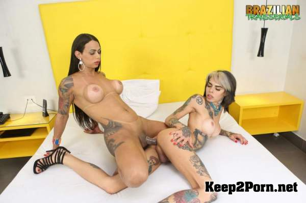 Rosy Pinheiro & Gaby Ink (11-02-2019) (MP4 / UltraHD 4K) Brazilian-Transsexuals
