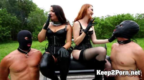 Kendra James, Michelle Lacy - Kendraand Michelle Smoking / Femdom (mp4 / FullHD) Clubdom