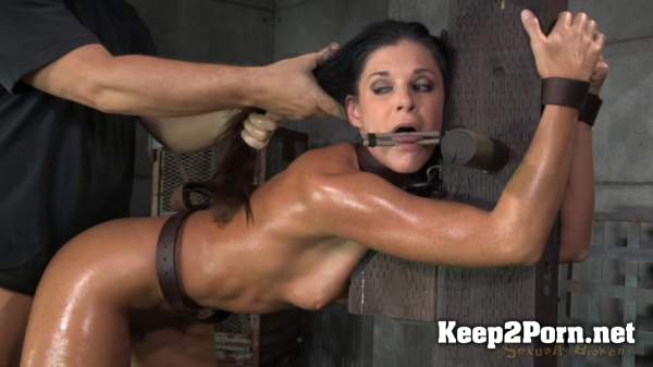 Stunning MILF India Summer belted down to a post and bred, 10 inch BBC and creampies! / 2020 / India Summer, Matt Williams, Jack Hammer (MP4, HD, BDSM) SexuallyBroken