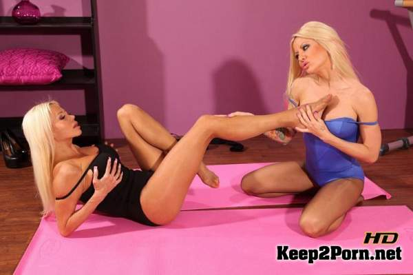 Pantyhose Seduction 44 - Helly Hellfire, Nikita Von James (MP4, HD, Fetish) JBVideo