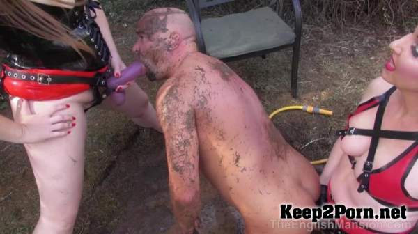 Mistress Evilyne, Mistress Sidonia - Wet Pit Pegging - Complete Movie / Strapon (FullHD / mp4) TheEnglishMansion