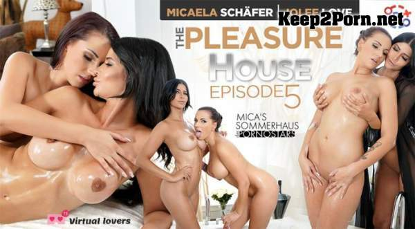 Micaela Schafer & Jolee Love (The Pleasure House / Mica's Sommerhaus Der Pornostars Episode 5) [Oculus, Vive, Index] (MP4, UltraHD 4K, VR) TSVirtualLovers