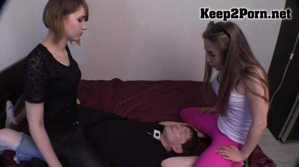 Mistresses Have Spat Over The Whole Face Of The Poor Slave / Femdom [FullHD 1080p] BeautifulGirls