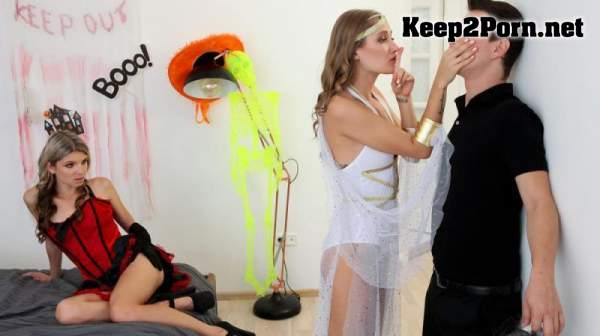 Gina Gerson & Tiffany Tatum - What Happened On Halloween (30.10.20) (SD / MP4) StepSiblingsCaught, Nubiles-Porn