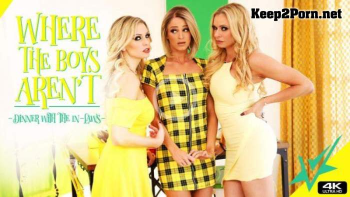 Briana Banks, Kenzie Taylor, Emma Hix (Dinner With The In-Laws) (MP4, UltraHD 4K, Lesbians) Vivid