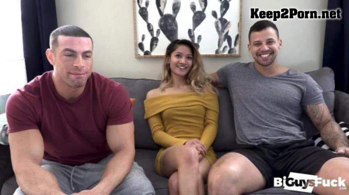 Tina Torres Makes Tony Romero Jealous As She PEGS Like A PRO On Sean Costin's Hole (MP4, FullHD, Bisexual) BiGuysFUCK