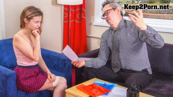 Bella Gray - Sweet Student Passes Test In Bed (02.10.2020) (MP4 / FullHD) TrickyOldTeacher
