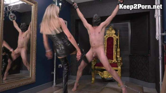 Mean Sexy Hot Ball Busting / Femdom (mp4 / FullHD) LadyDarkAngelUk