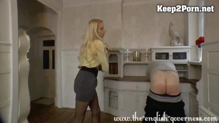 Miss Kenworthy - A Harsh Strapping Across The Bare Sshould Do The Trick / Femdom [720p / Femdom] Clips4sale
