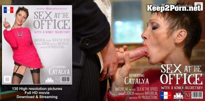 Catalya (EU) (57) - Pussy pierced mature secretary gets fucked in the office / 13870 (Anal, FullHD 1080p) Mature.nl