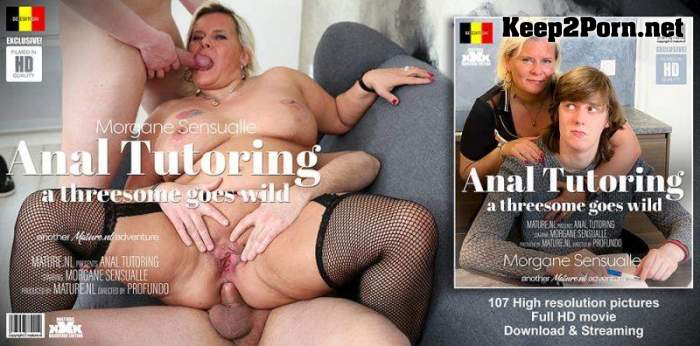 Morgane Sensualle (EU) (45) - The Threesome Tutor / 13685 (MP4 / FullHD) Mature.nl
