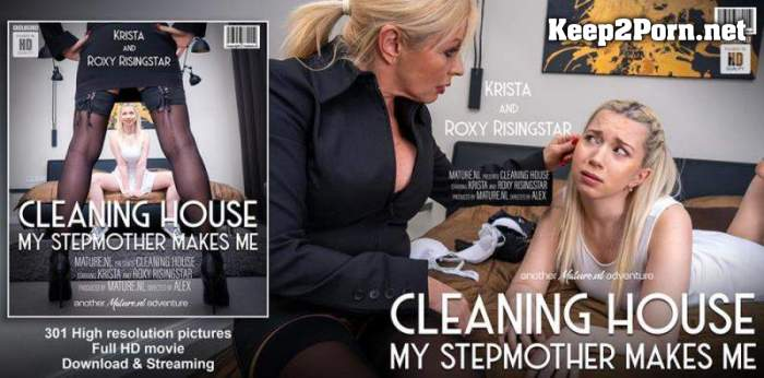 Krista E (48) & Roxy Risingstar (23) - How to train your daughter (FullHD / Lesbians) Mature.nl, Mature.eu