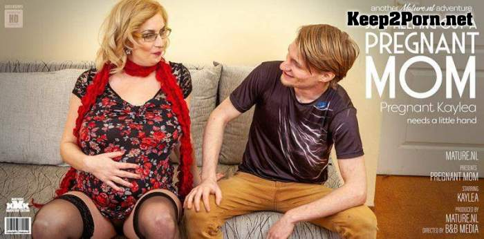 Kaylea (37) - Hairy Pregnant Mom Fucks Toyboy / 13957 (MP4, FullHD, Mature) Mature.nl