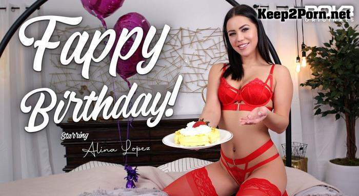Alina Lopez (Fappy Birthday! / 17.02.2021) [Oculus Rift, Vive] (MP4, UltraHD 2K, VR) POVR Originals