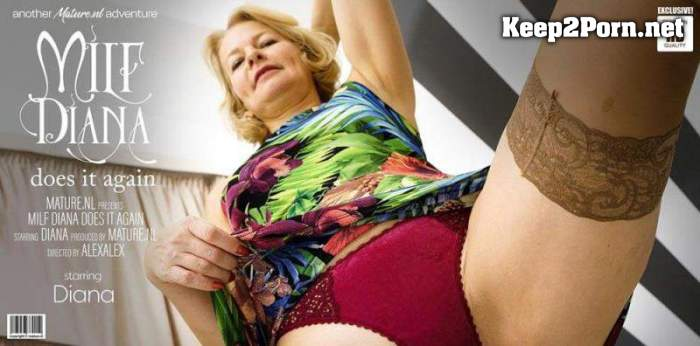Diana (54) - MILF Diana is back to make us all go wild over her hot body (HD / Mature) Mature.nl